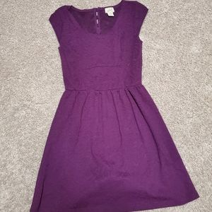 Small purple dress